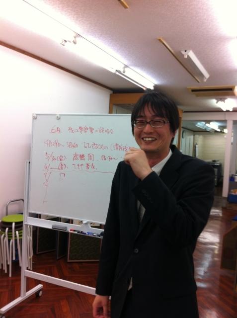 楽しく話す山本氏